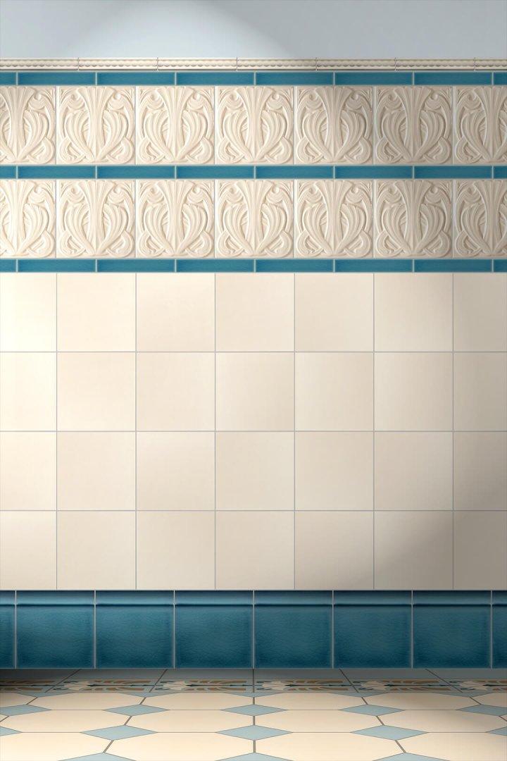 Wall tiles Tiles decorated Verlegebeispiel F 41.26