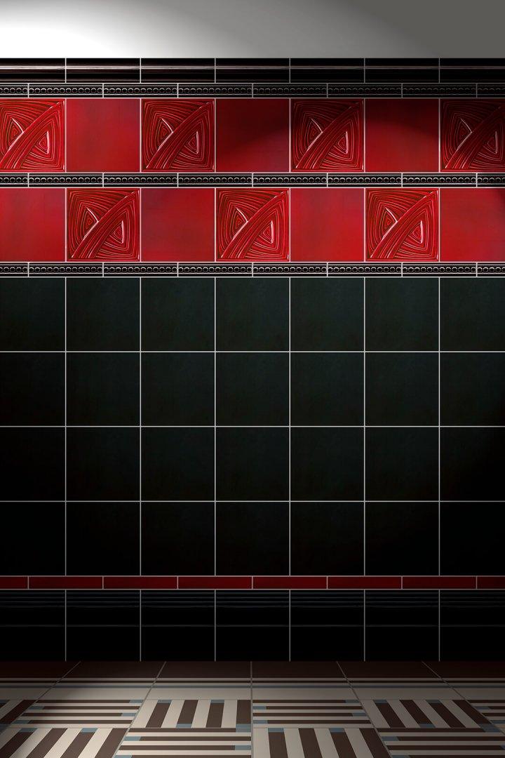 Carreaux muraux  Avec motifs Verlegebeispiel F 45.400