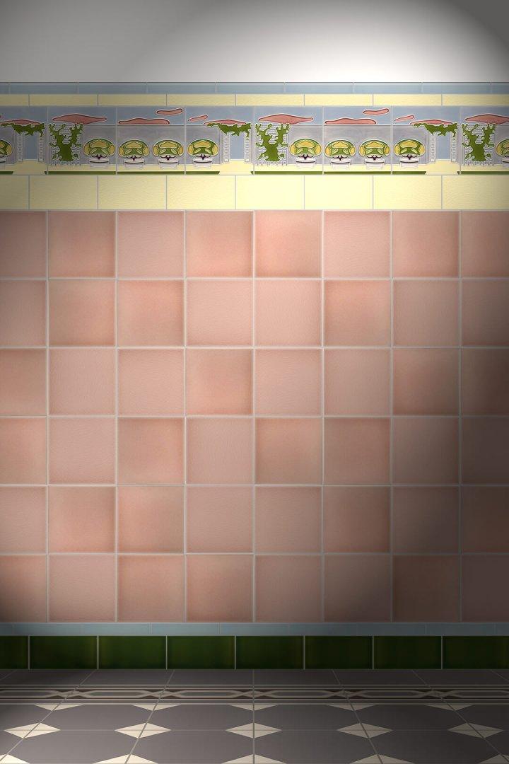 Carreaux muraux  Avec motifs Verlegebeispiel F 4a V1