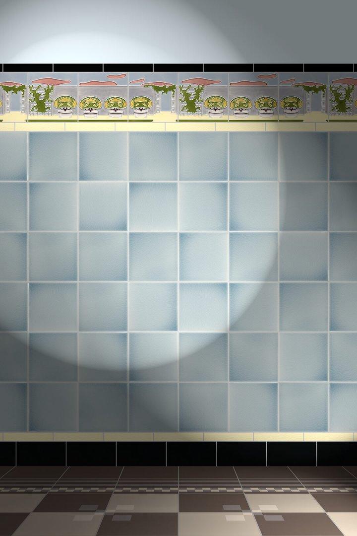 Carreaux muraux  Avec motifs Verlegebeispiel F 4c V1