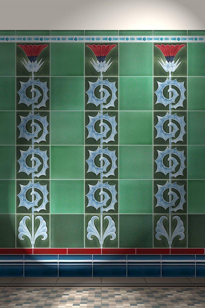 jugendstilfliesen-wandfliesen-verlegemuster F 53 abc V2