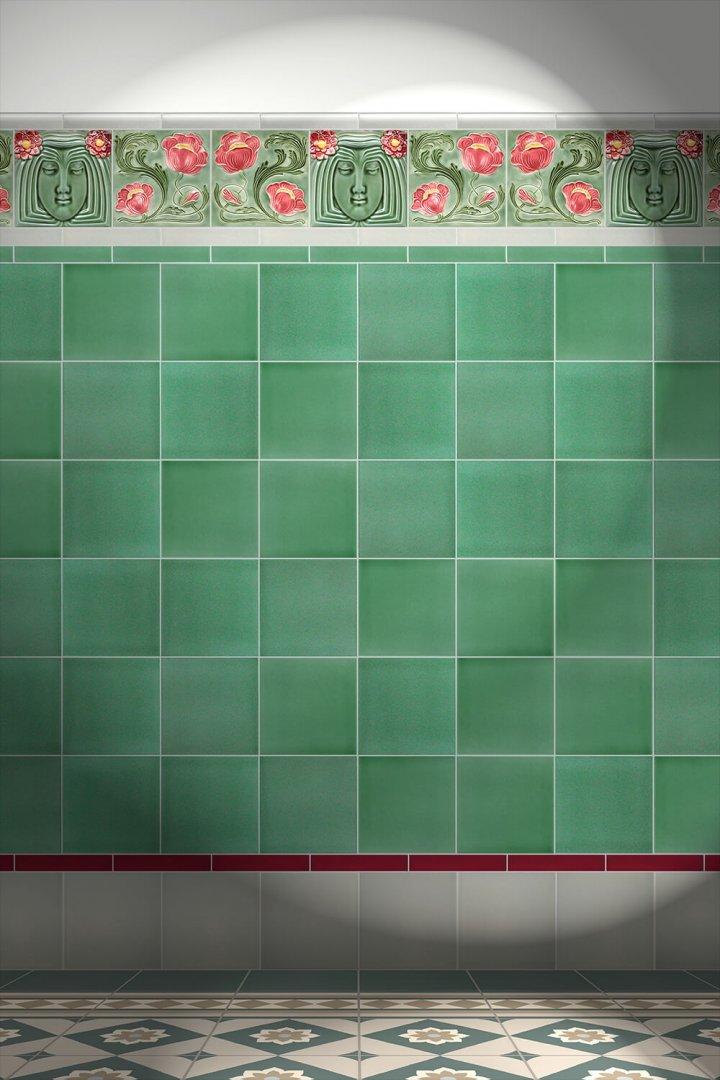 Carreaux muraux  Avec motifs Verlegebeispiel F 5 V1