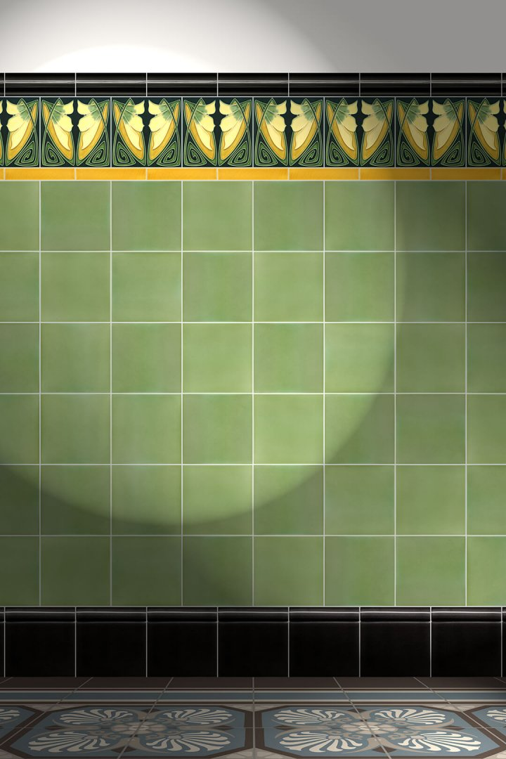 Carreaux muraux  Avec motifs Verlegebeispiel F 83 V1