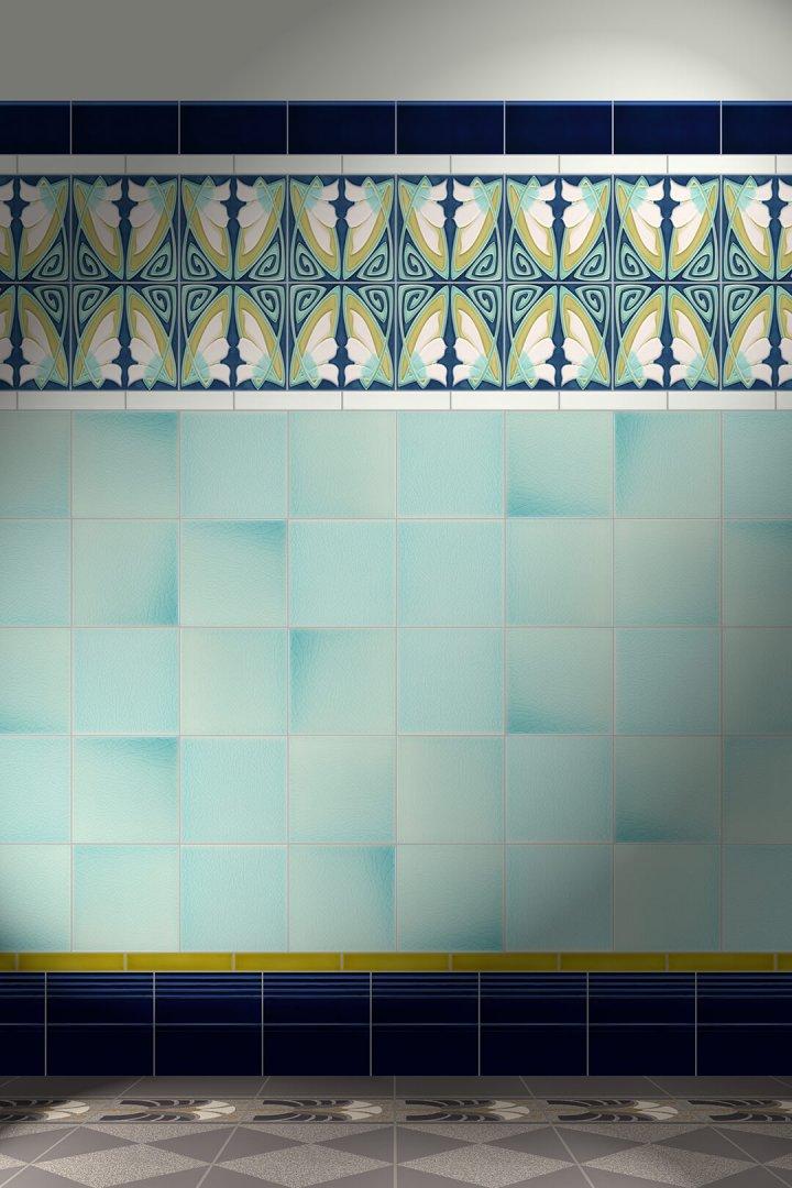 Carreaux muraux  Avec motifs Verlegebeispiel F 83 V2