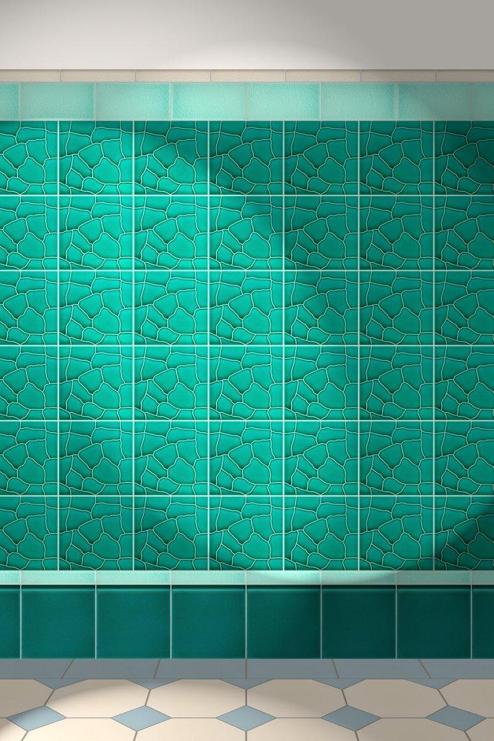Carreaux muraux  Avec motifs Verlegebeispiel F 85.41