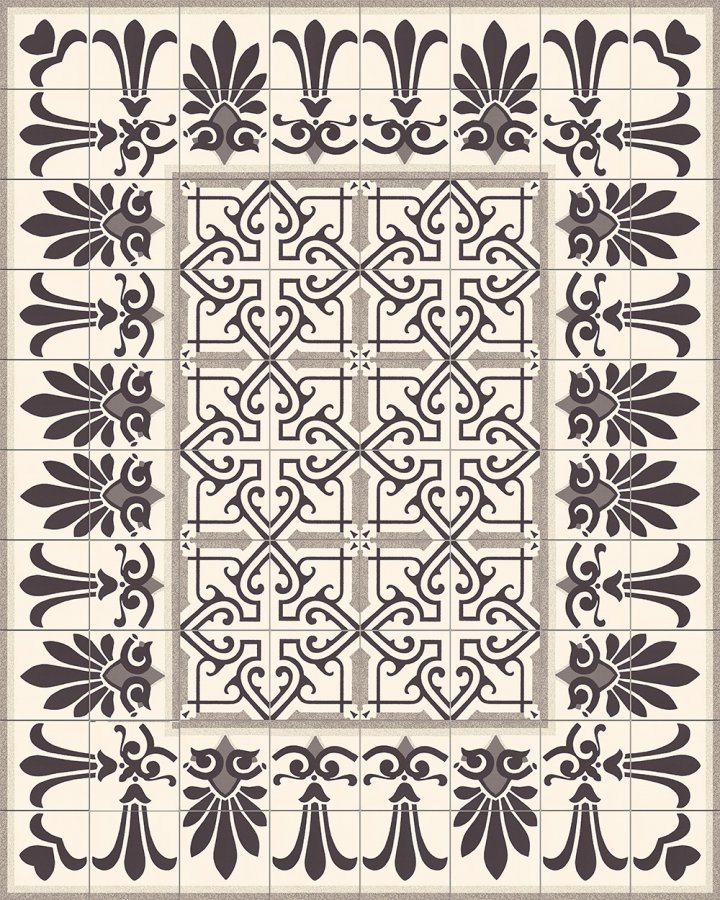 Floor tiles Floor Tiles multi-coloured Layouts and patterns SF 202