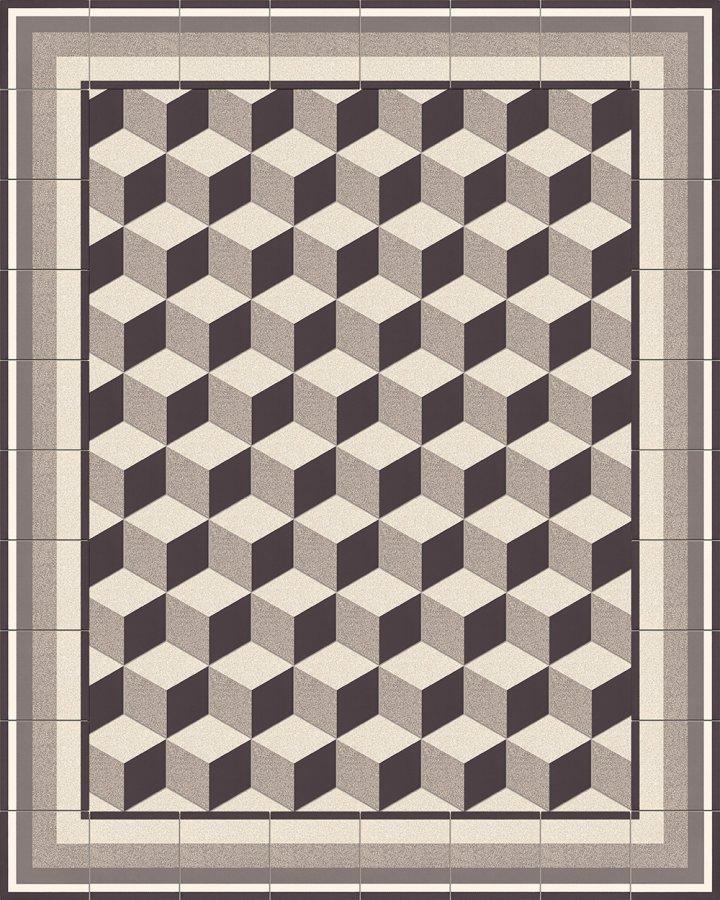 Carreaux hexagonal SF 317 A