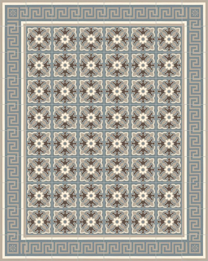 Floor tiles Floor Tiles multi-coloured Layouts and patterns SF 357 A