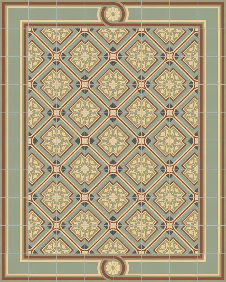 Floor tiles Floor Tiles multi-coloured Layouts and patterns SF 556 J