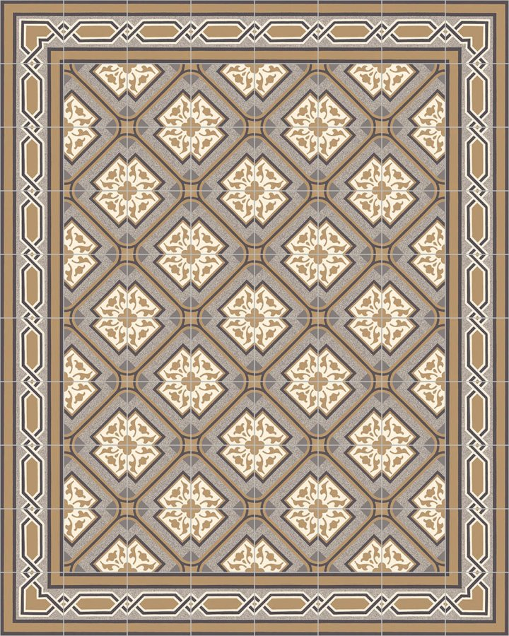 Floor tiles Floor Tiles multi-coloured Layouts and patterns SF 556 C