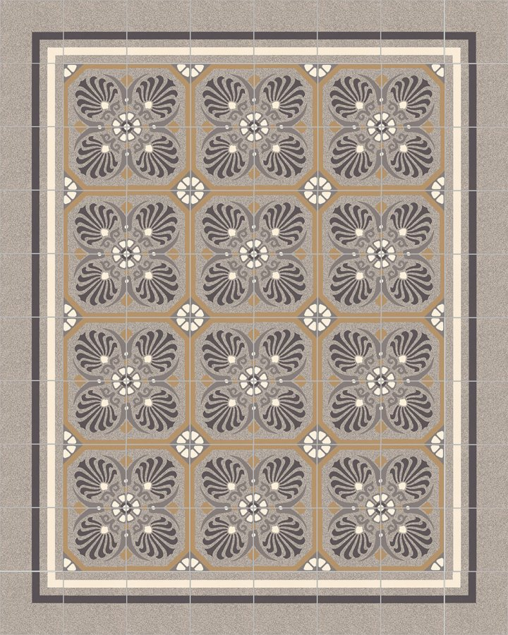 Floor tiles Floor Tiles multi-coloured Layouts and patterns SF 558 C