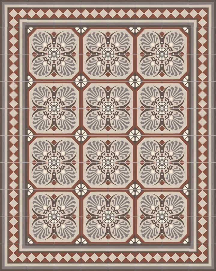 Floor tiles Floor Tiles multi-coloured Layouts and patterns SF 558 F