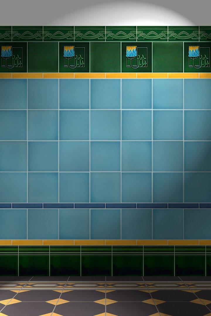 Wall tiles Floor tiles