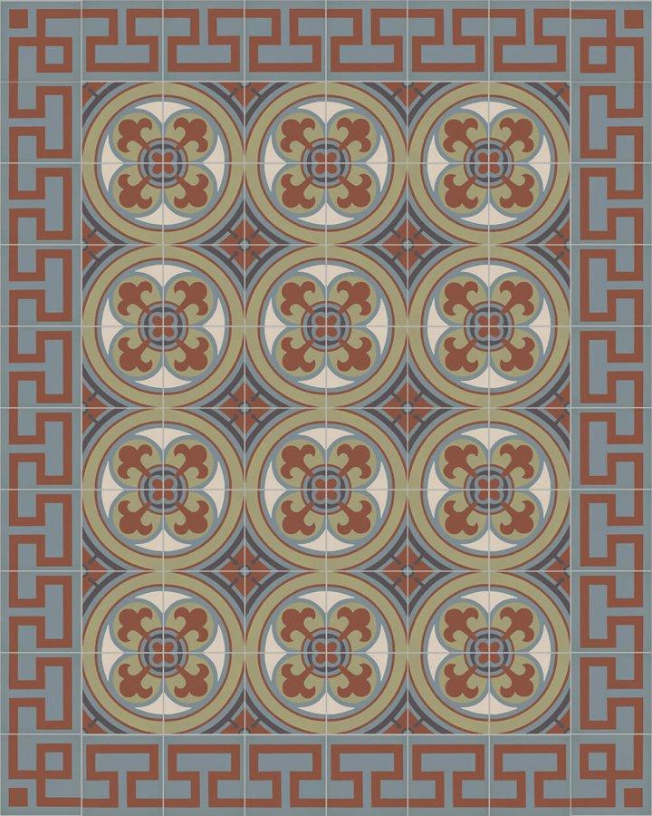 ornamentfliesen-sf550-verlegebeispiel-SF 254 L
