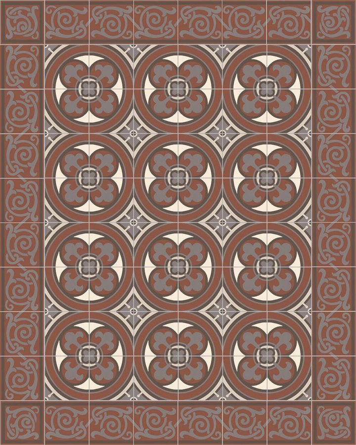 Floor tiles Floor Tiles multi-coloured Layouts and patterns SF 550 F