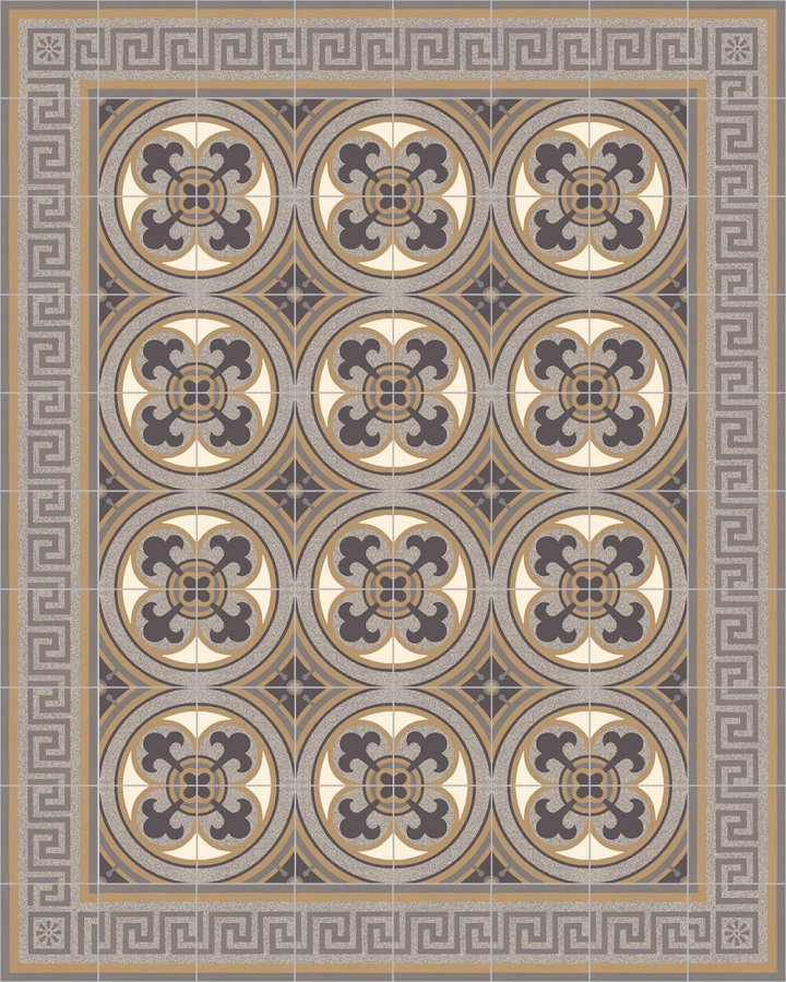Floor tiles Floor Tiles multi-coloured Layouts and patterns SF 550 C