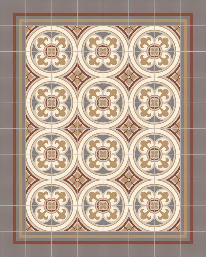 Floor tiles Floor Tiles multi-coloured Layouts and patterns SF 550 D