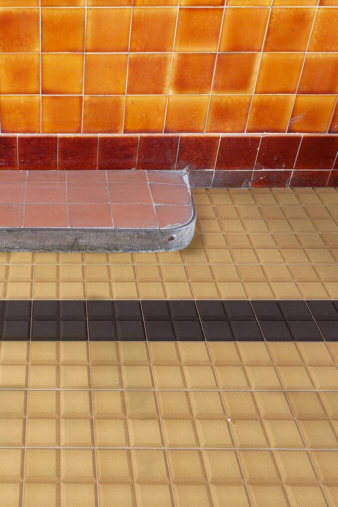 Carreaux pour sol Carreaux en grès - monochromes Verlegebeispiel SF 30.6