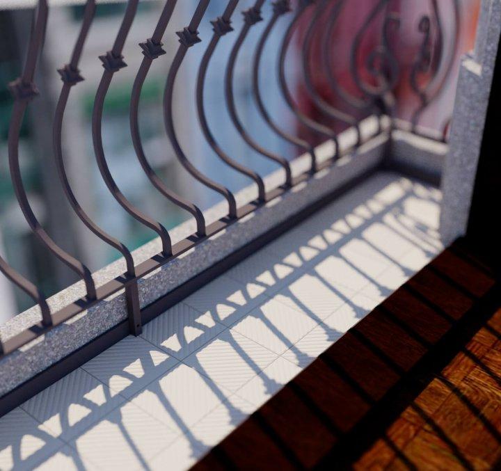 Carreaux pour sol Carreaux en grès - monochromes Verlegebeispiel SF 14.3