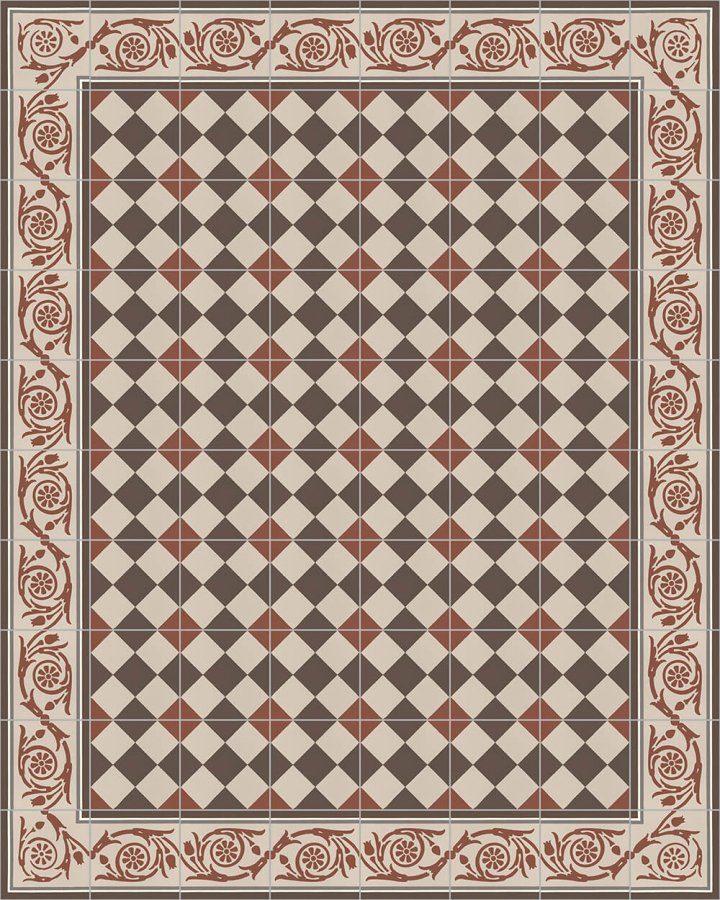 Floor tiles Floor Tiles multi-coloured Layouts and patterns SF 218 F