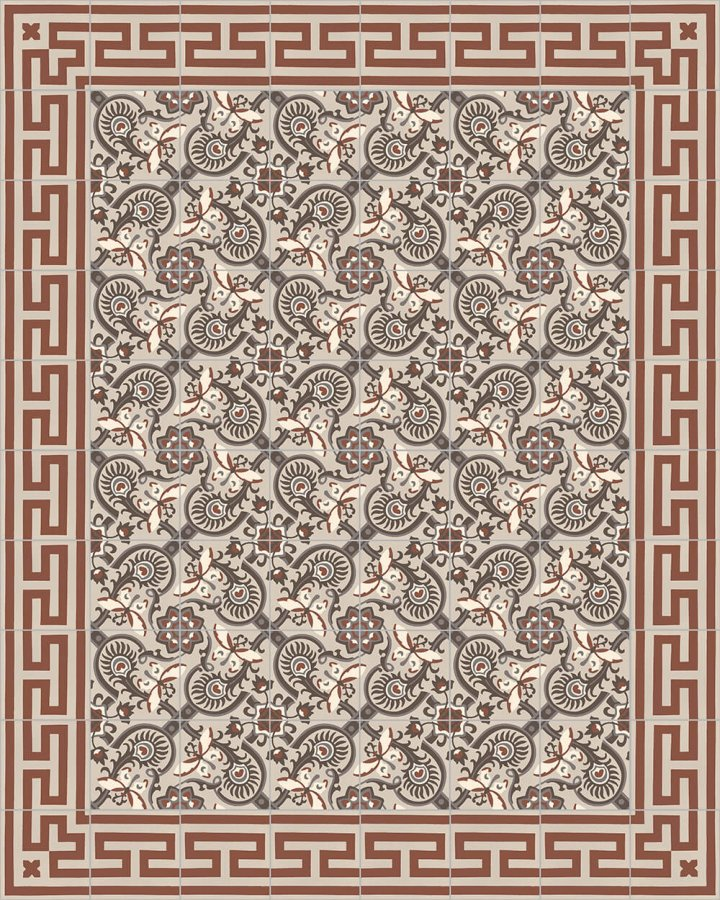 Floor tiles Floor Tiles multi-coloured Layouts and patterns SF 565 F