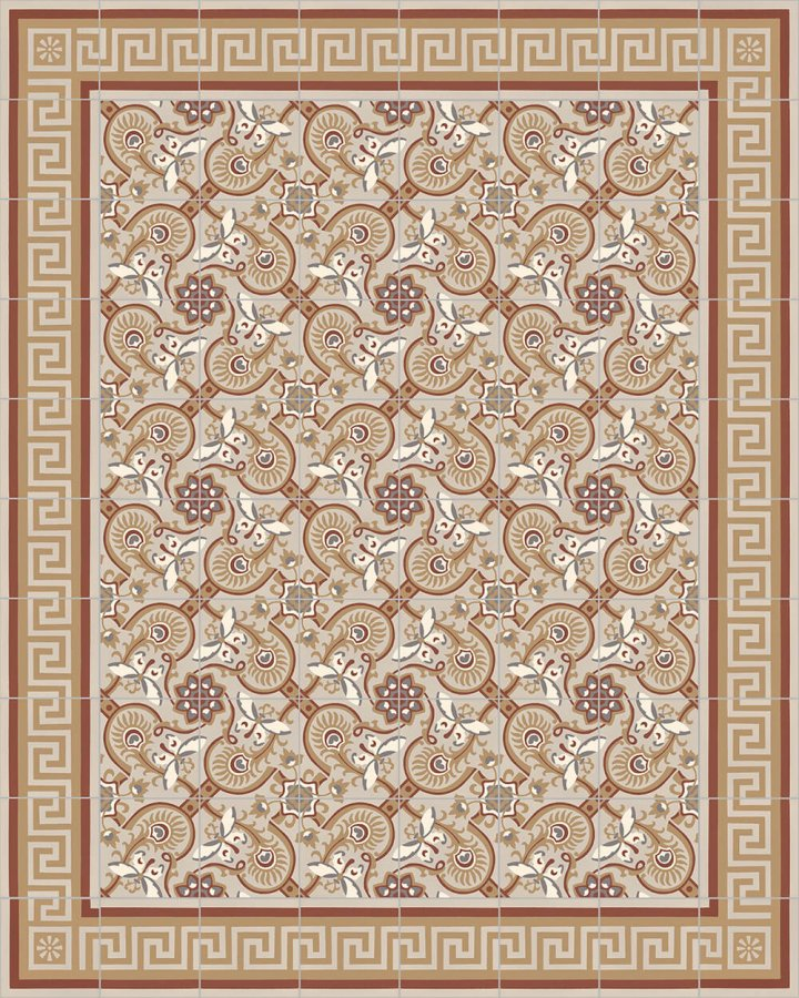 Floor tiles Floor Tiles multi-coloured Layouts and patterns SF 565 D