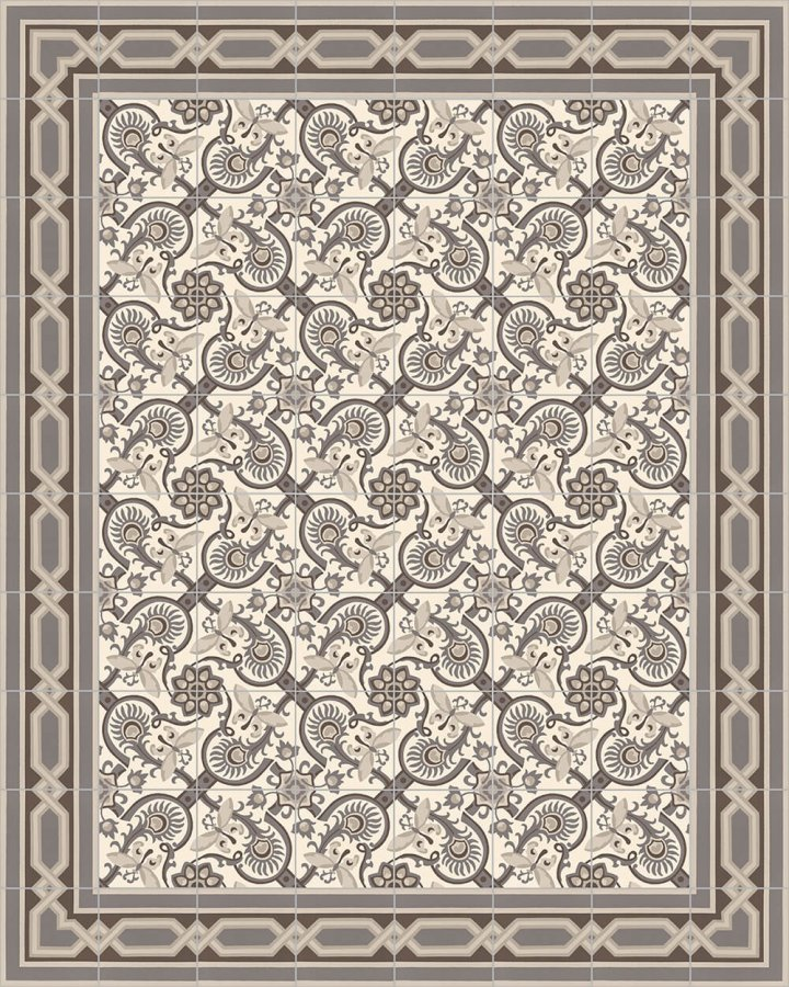 Floor tiles Floor Tiles multi-coloured Layouts and patterns SF 565 E