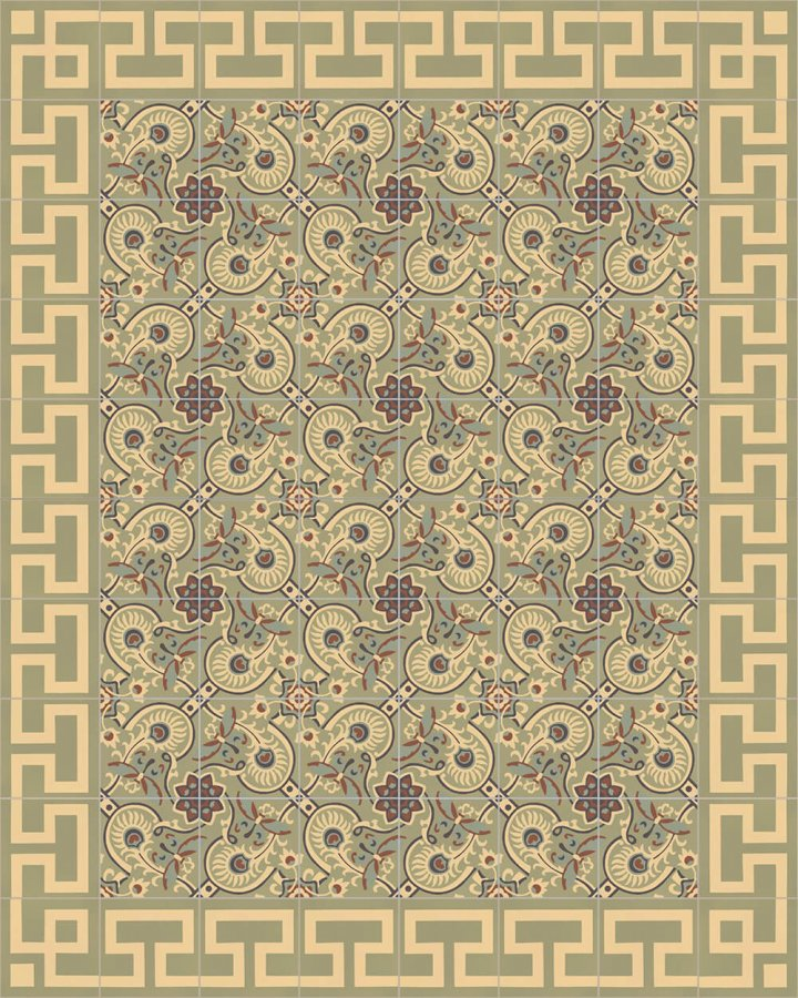 Floor tiles Floor Tiles multi-coloured Layouts and patterns SF 565 J