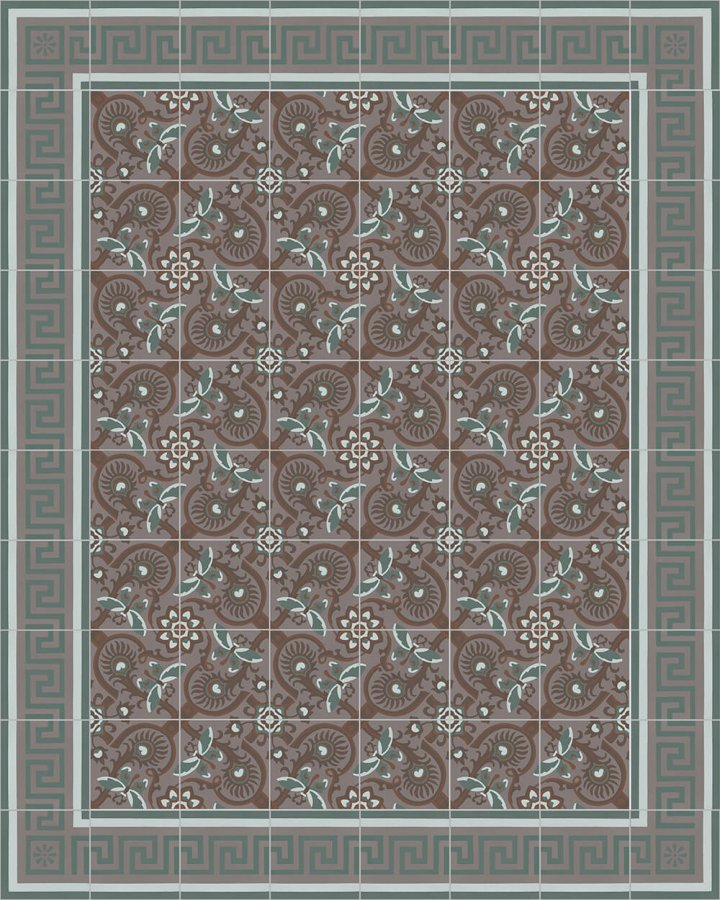 Floor tiles Floor Tiles multi-coloured Layouts and patterns SF 565 R