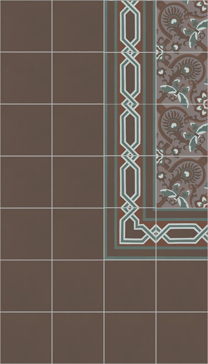 Floor tiles SF 10.18 S rand