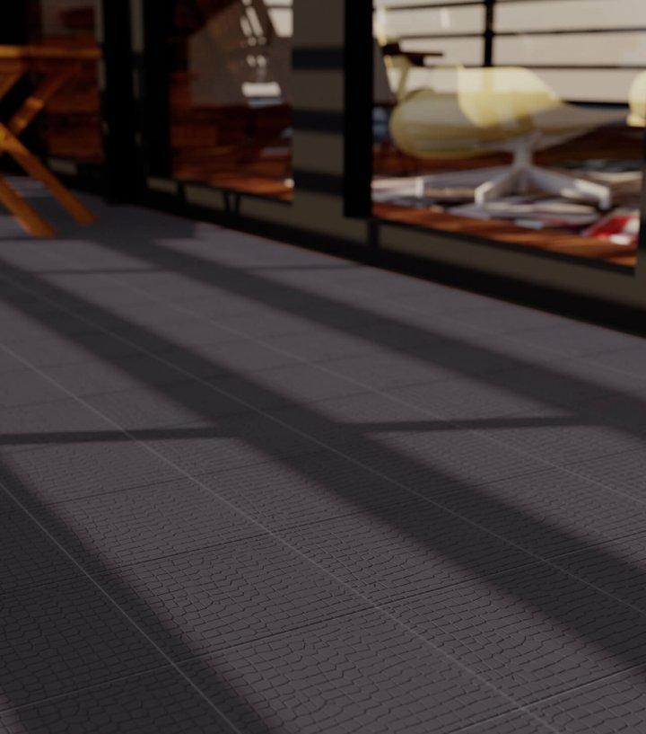 Floor tiles Floor Tiles single-coloured Verlegebeispiel SF 11.10