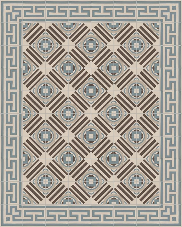 Floor tiles Floor Tiles multi-coloured Layouts and patterns SF 206 A e