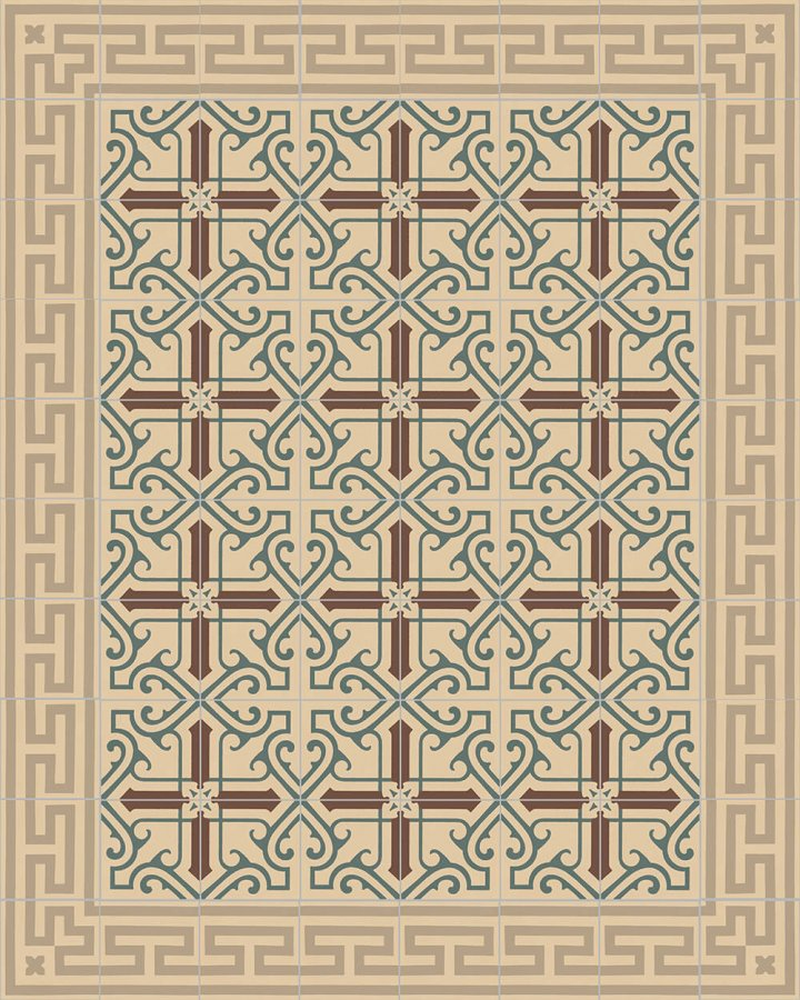 Floor tiles Floor Tiles multi-coloured Layouts and patterns SF 208 B