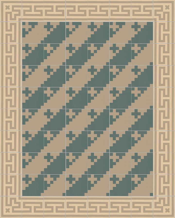 Floor tiles Floor Tiles multi-coloured Layouts and patterns SFTG 7201 B b