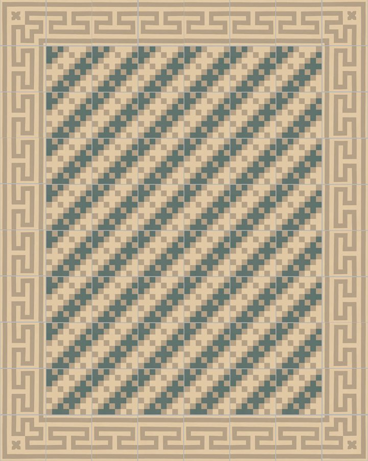 Floor tiles Floor Tiles multi-coloured Layouts and patterns SF 206 B e