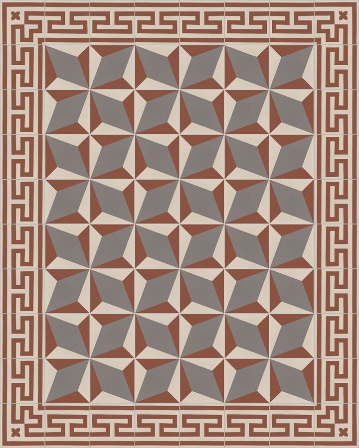 Floor tiles Floor Tiles multi-coloured Layouts and patterns SF 206 F e