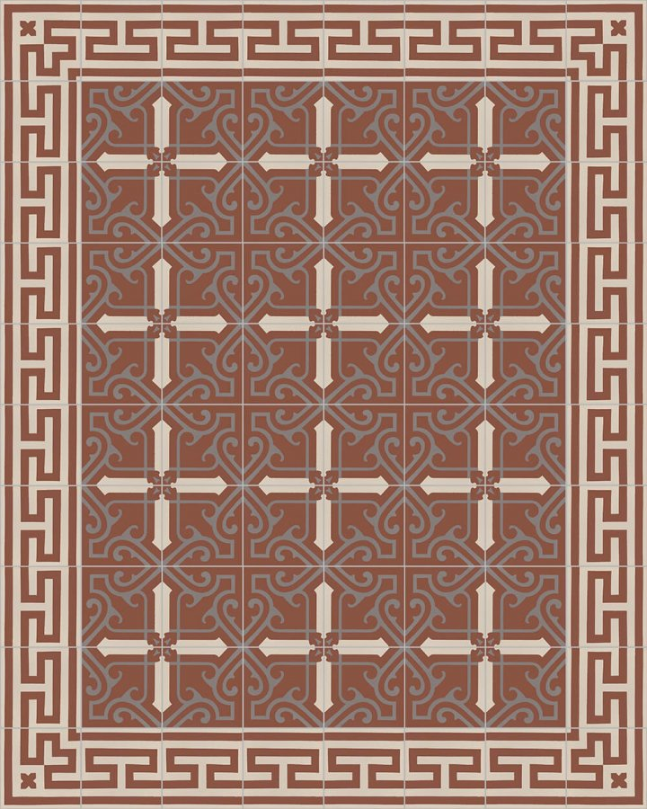 Floor tiles Floor Tiles multi-coloured Layouts and patterns SF 206 F