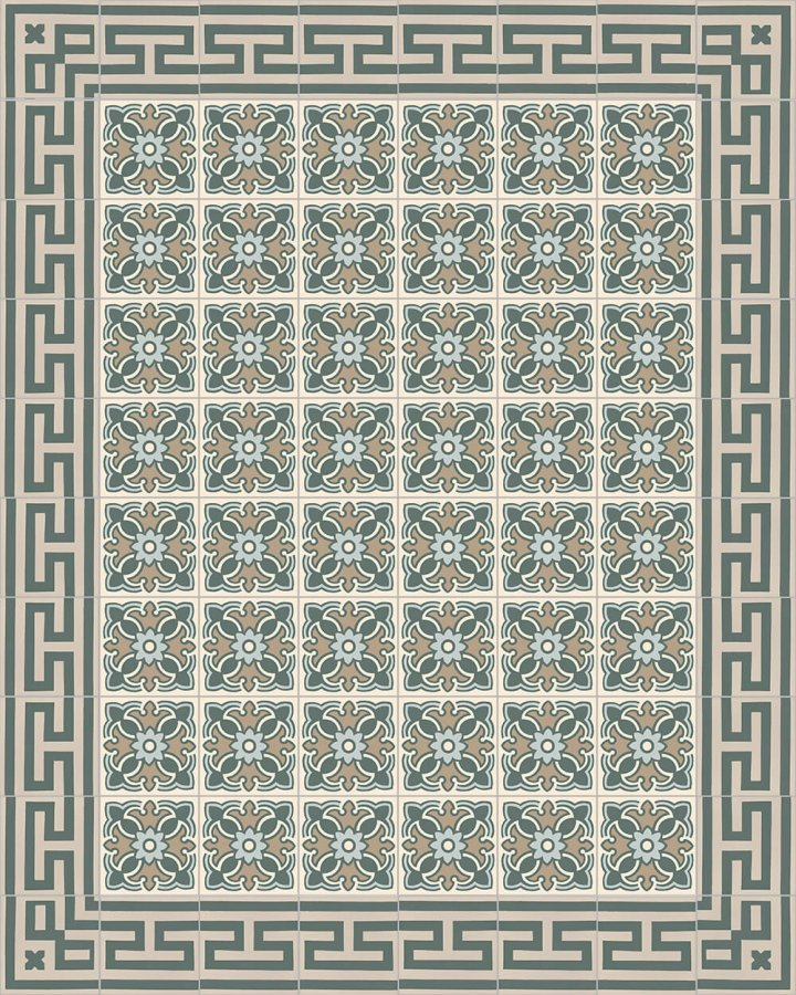 Floor tiles Floor Tiles multi-coloured Layouts and patterns SF 420 G