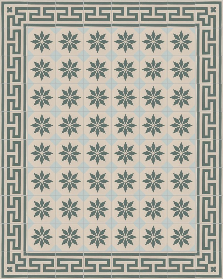 Floor tiles Floor Tiles multi-coloured Layouts and patterns SF 308 G