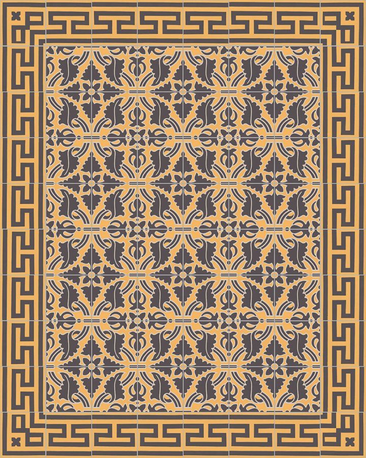 Carreaux pour sol Grès fin - polychrome Layouts and patterns SF 331 H r