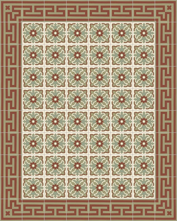 Floor tiles Floor Tiles multi-coloured Layouts and patterns SF 206 I e