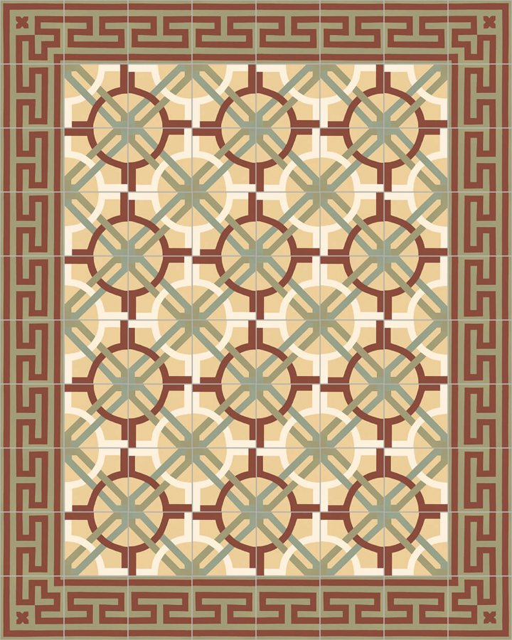 Floor tiles Floor Tiles multi-coloured Layouts and patterns SF 206 I