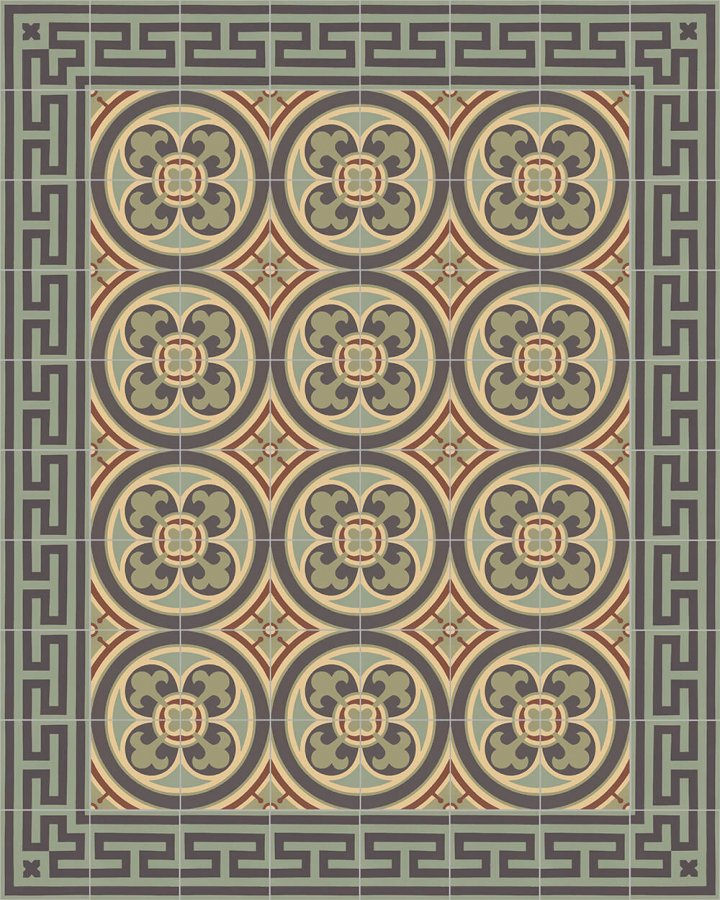 Floor tiles Floor Tiles multi-coloured Layouts and patterns SF 206 J e