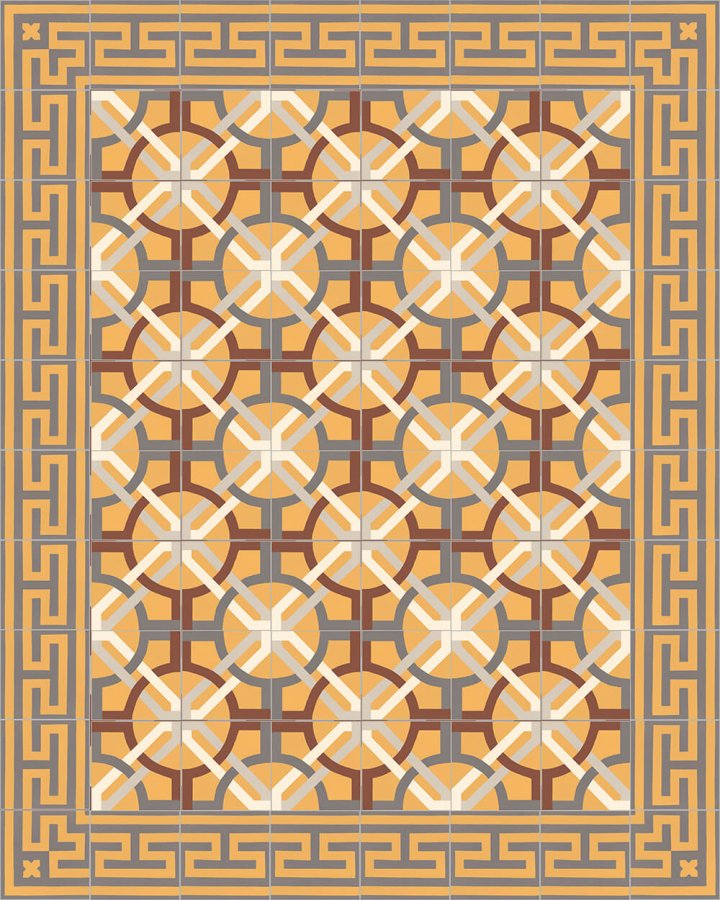 Floor tiles Floor Tiles multi-coloured Layouts and patterns SF 206 K