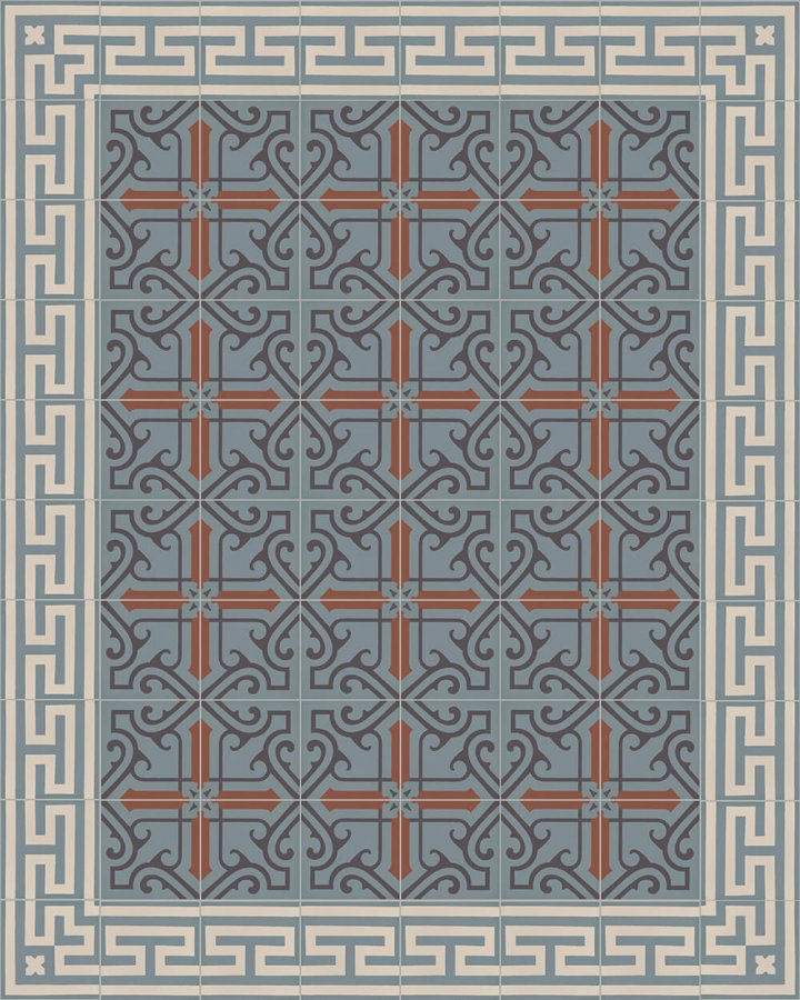 Floor tiles Floor Tiles multi-coloured Layouts and patterns SF 206 L e