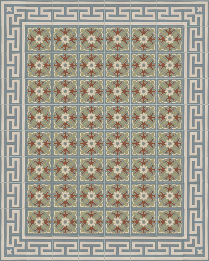 Floor tiles Floor Tiles multi-coloured Layouts and patterns SF 206 L