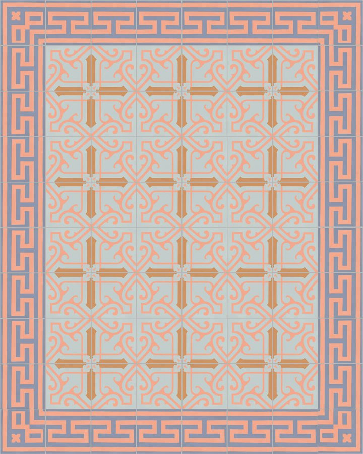 Floor tiles Floor Tiles multi-coloured Layouts and pattern SF 325 N