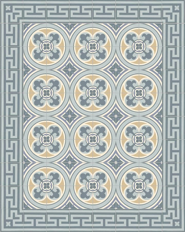 Floor tiles Floor Tiles multi-coloured Layouts and patterns SF 206 O e
