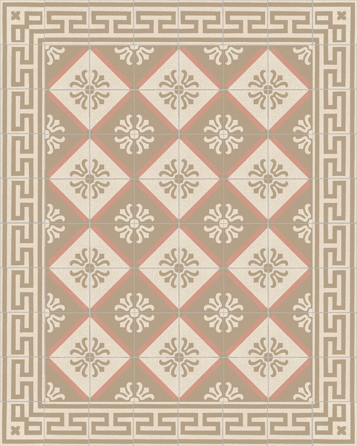 Floor tiles Floor Tiles multi-coloured Layouts and patterns SF 206 P