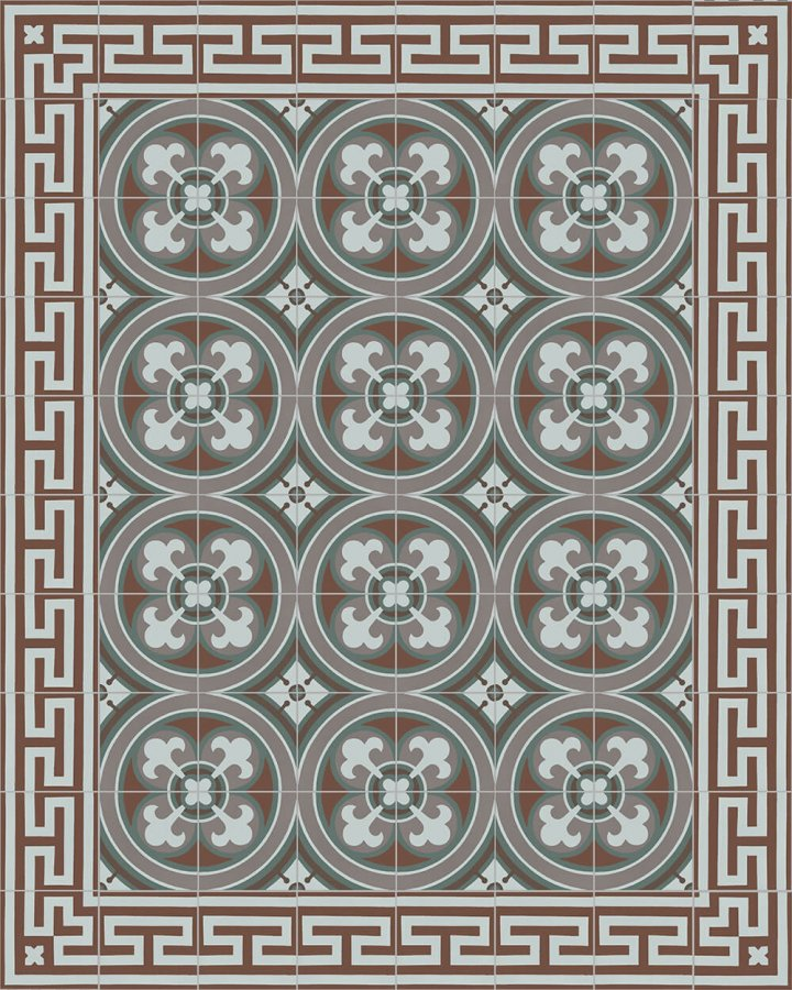 Floor tiles Floor Tiles multi-coloured Layouts and patterns SF 206 R
